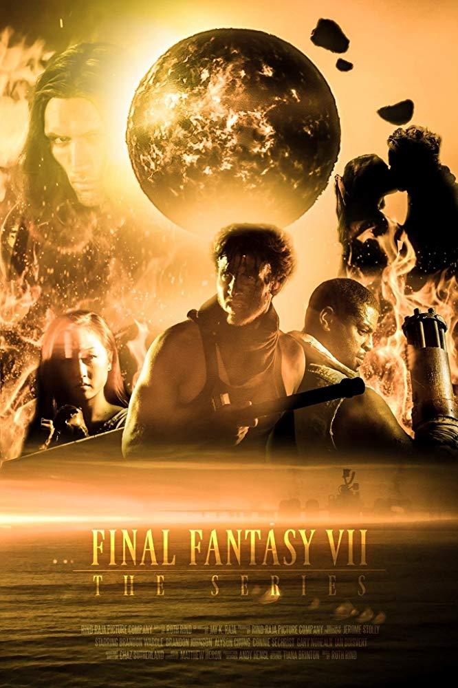Final Fantasy VII- The Series Pegasus Aerials Aerography Drone Production