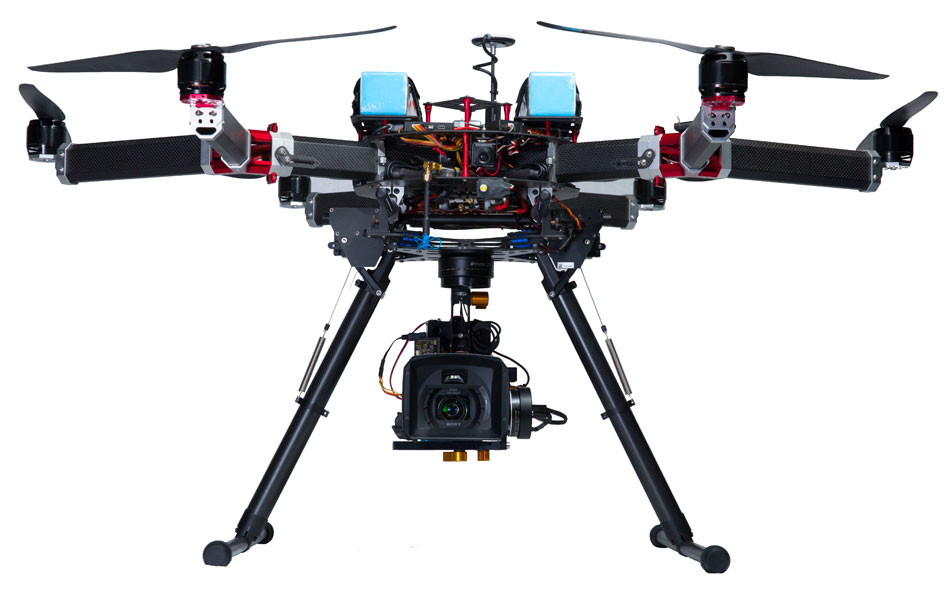 Custom Pro-Build Drones, up to a 16lb Payloads